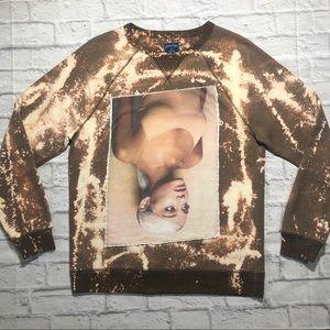 Handmade Ariana Grande Galaxy Splatter Sweatshirt